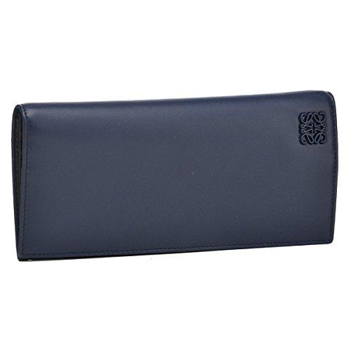LOEWE(ロエベ) 財布 メンズ CLASSIC 2つ折り長財布 ネイビーブルー 13387978-0004-5197 [並行輸入品]