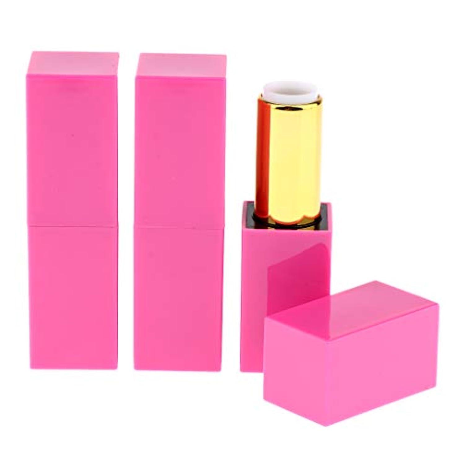 対分割十代3点入り 化粧チューブ 空の口紅チューブ リップグロスチューブ リップクリーム容器