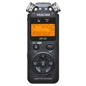 TASCAM リニアPCMレコーダー DR-05VER2-JJ B01LX4SBON 1枚目