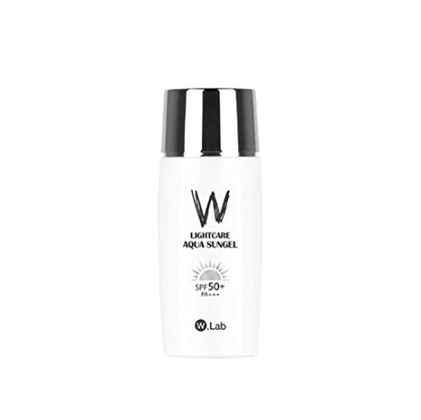 流用する厚くするギャングスターW.Lab Light Care Aqua Sun Gel Sunscreen SPF PA+++ 50+ Daily Care Solution SPF 50 PA+++ Face Body Water Resistant...