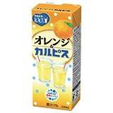 カルピス オレンジ&カルピス 250ml紙パック×24本入