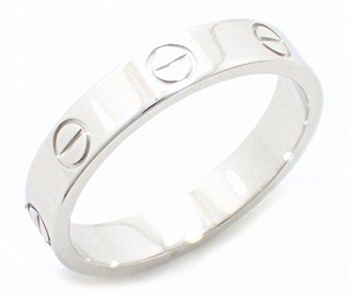 [カルティエ] Cartier ミニラブリング 指輪 13号 #53 K18WG 750WG ホワイトゴールド B4085100 B4085153