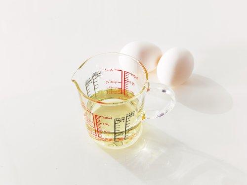 HARIO (ハリオ) メジャーカップ ワイド 耐熱ガラス 取っ手付 200ml CMJW-200