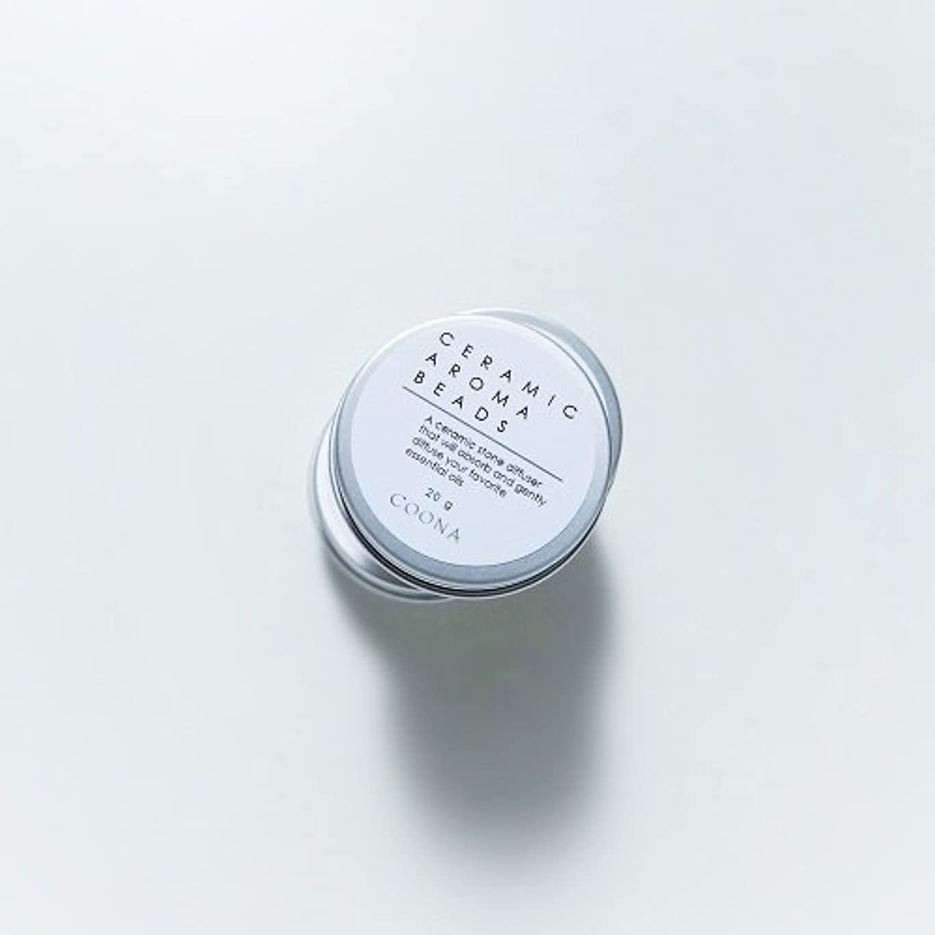り麻痺させるダイアクリティカルセラミックアロマビーズ(缶入り アロマストーン エコディフューザー)20g×1個