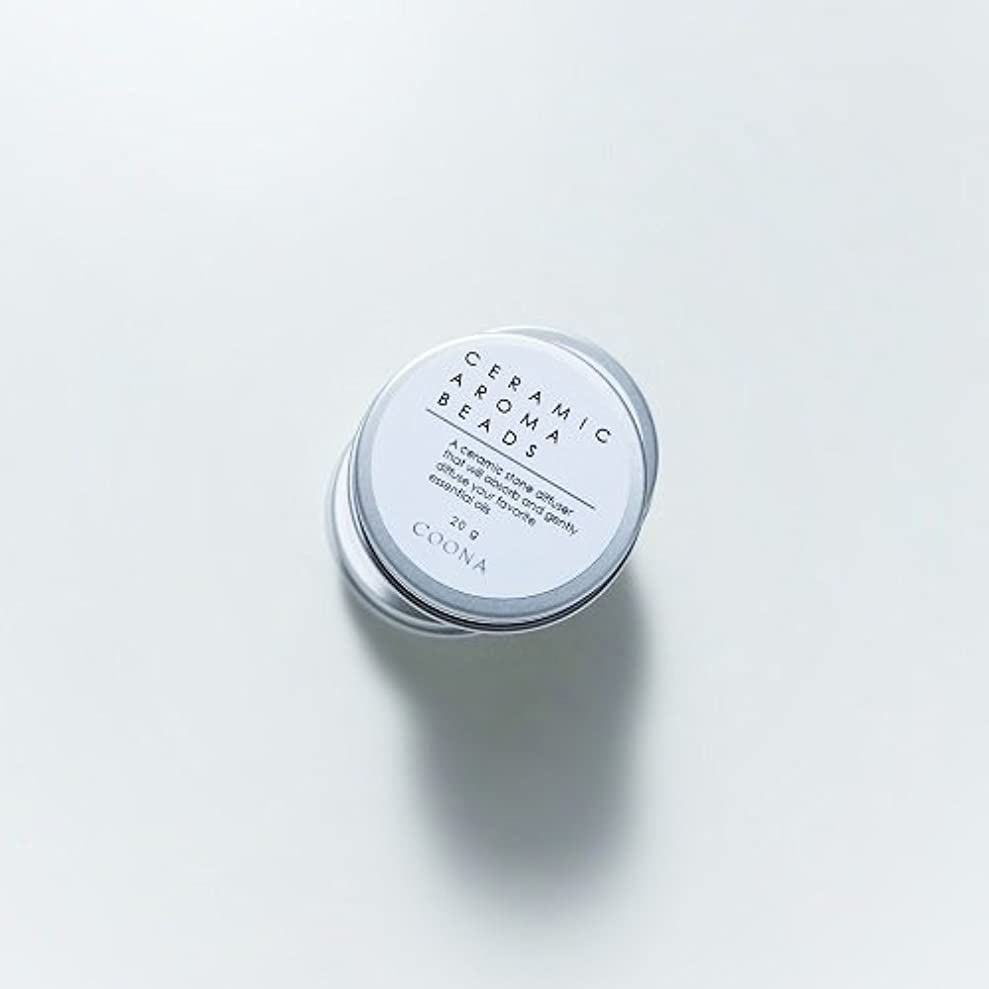 ピービッシュ資金許可するセラミックアロマビーズ(缶入り アロマストーン エコディフューザー)20g×1個