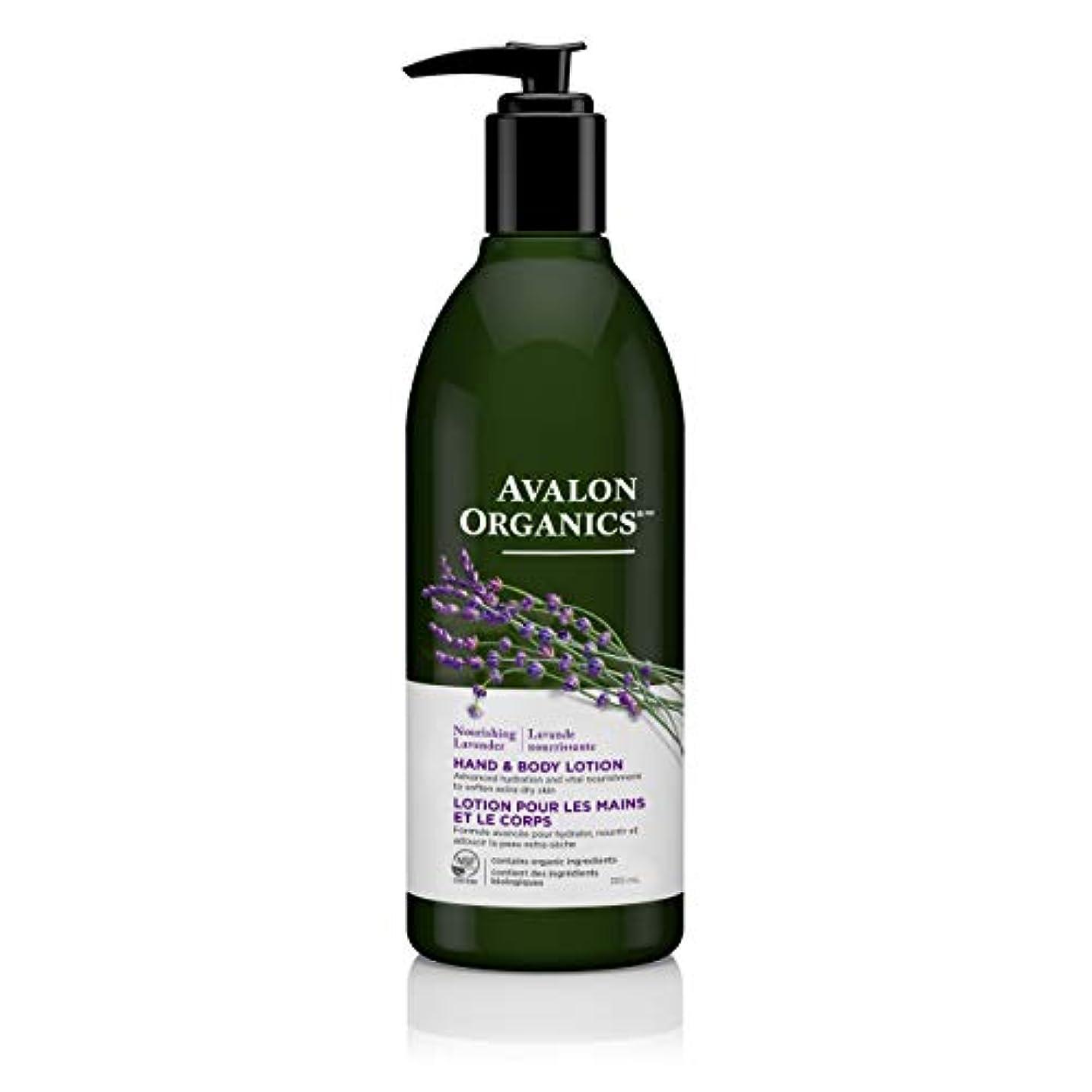 キャリッジ現金ルームAvalon Lavender Hand & Body Lotion 360 ml (並行輸入品)