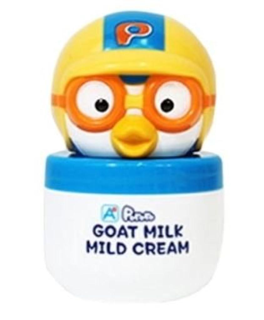 予防接種するリラックスした瞑想するPORORO Goat Milk Mild Cream 60g [並行輸入品]