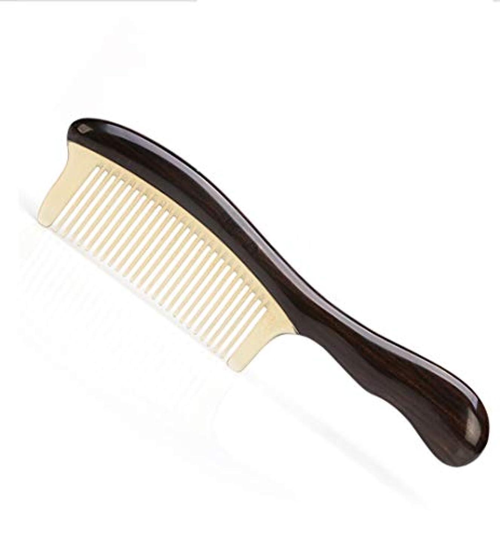 レギュラー行く増幅器ふくらんでいない新しい大きな高密度の歯、髪の櫛を傷つけないでください モデリングツール (色 : ベージュ)