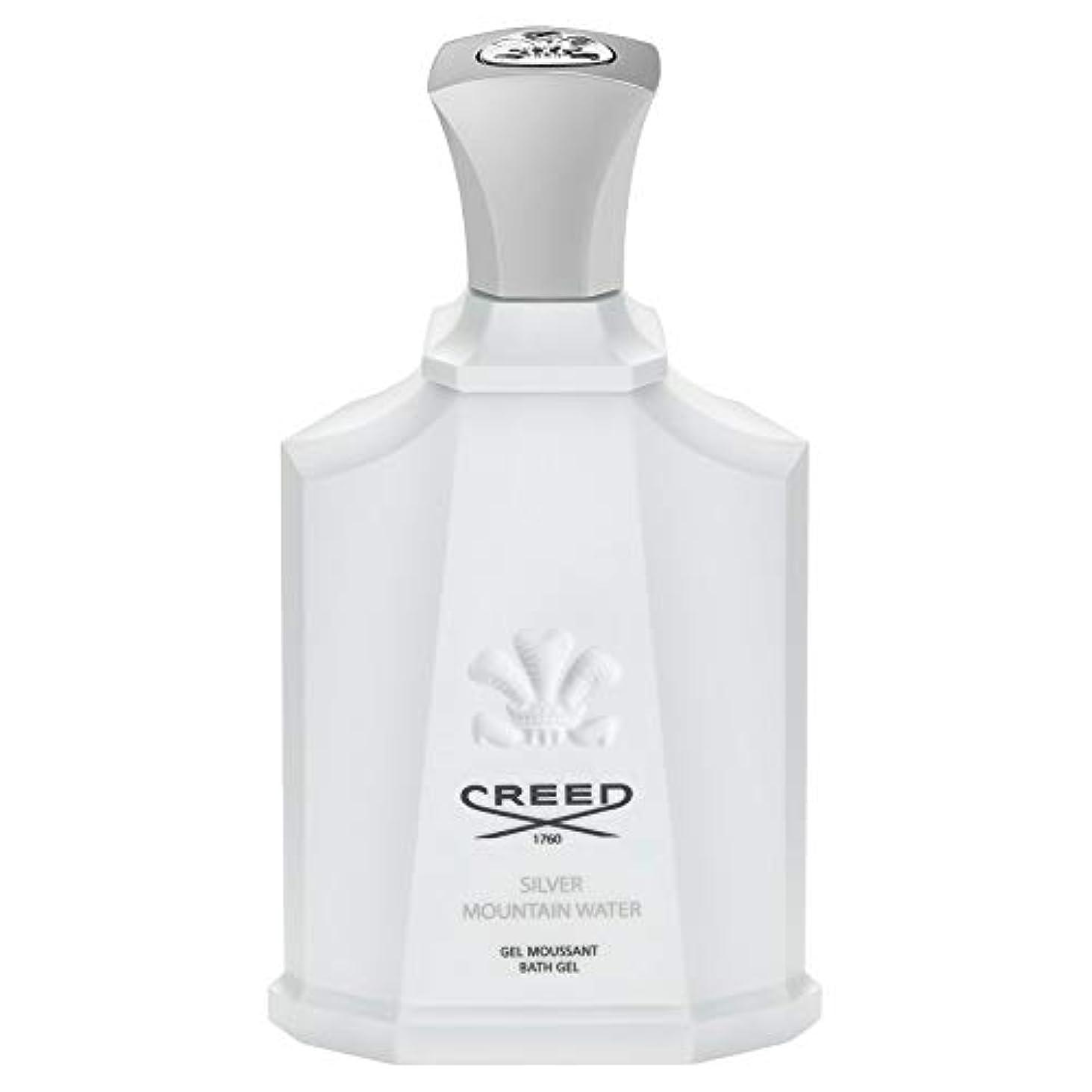 パーツラグ満了[Creed ] 信条銀山の水シャワージェル200Ml - CREED Silver Mountain Water Shower Gel 200ml [並行輸入品]