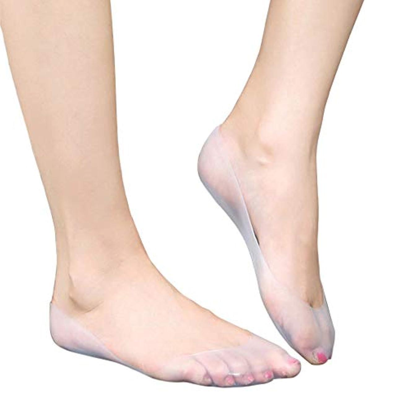 有料先見の明デコードする保湿靴下 シリコンソックス 角質ケア ひび割れ かかとケア あかぎれ予防 足裂対策