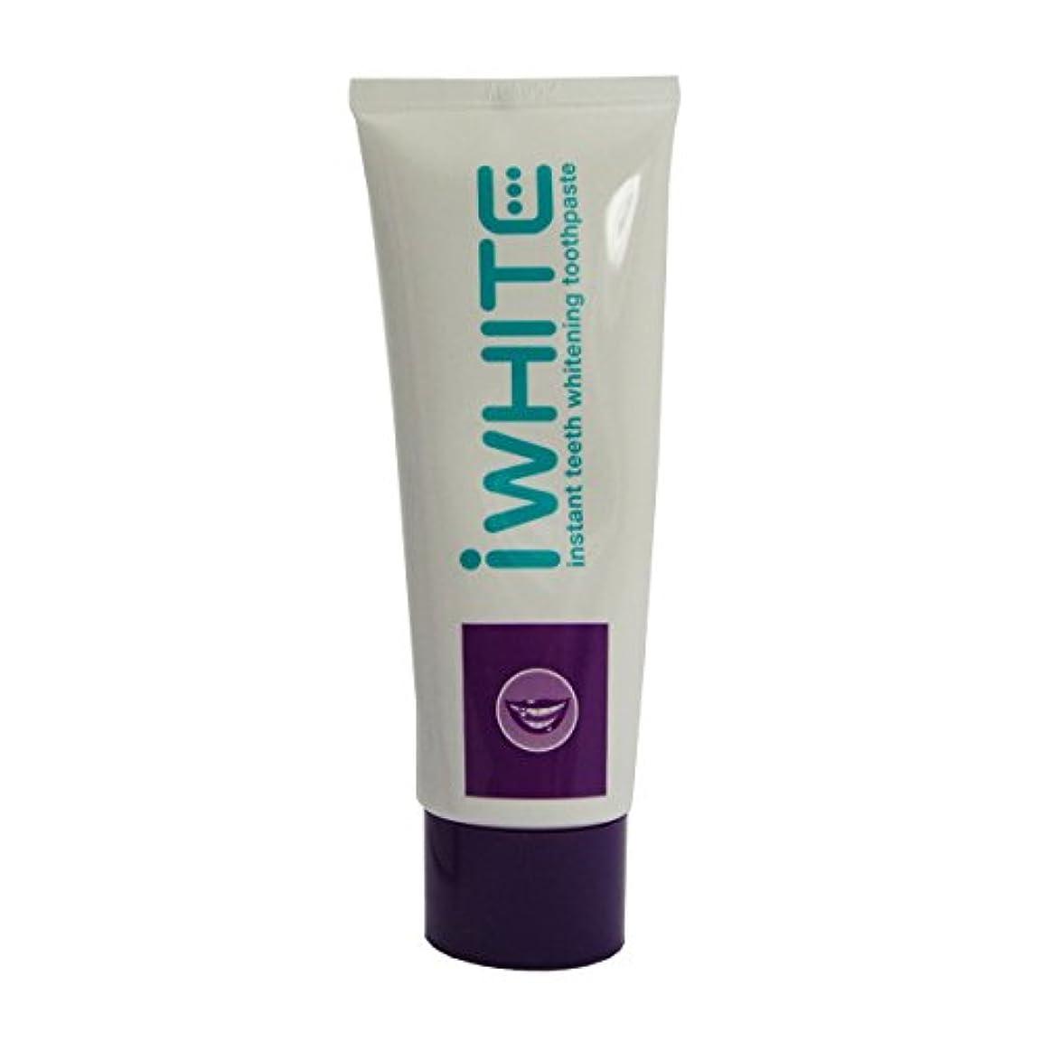 批判する王朝湿気の多いIwhite Whitening Toothpaste 75ml [並行輸入品]
