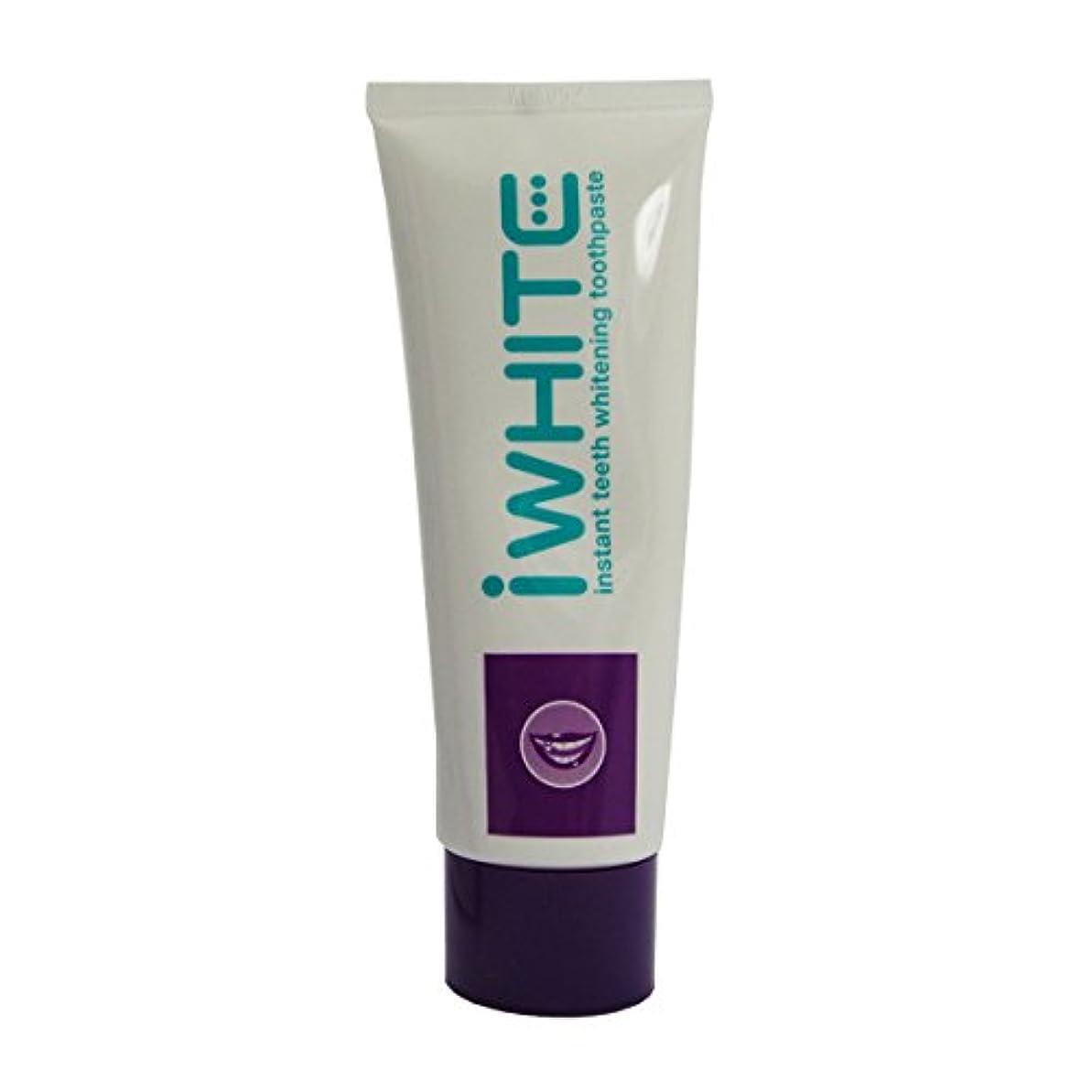 受け皿債務者自発的Iwhite Whitening Toothpaste 75ml [並行輸入品]
