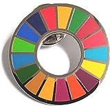 HoRoPii 国連本部限定 正規品 ピンバッジ SDGs 日本未発売 (1個)