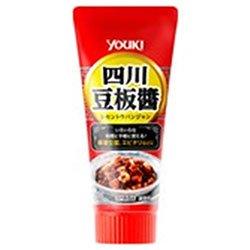 ユウキ食品 四川豆板醤 チューブ 100g×10本入×(2ケース)