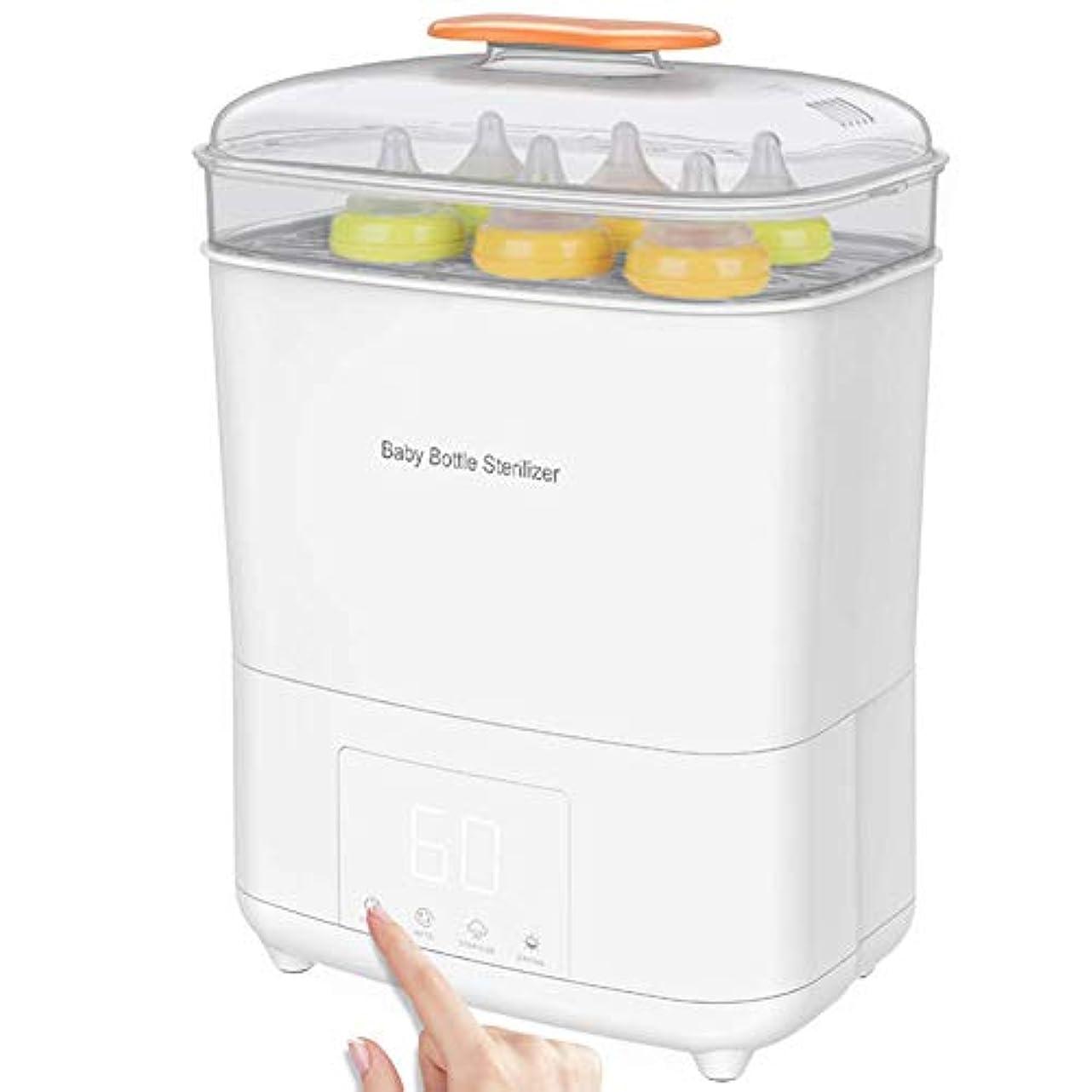 熱望するソロアベニュー哺乳瓶の電気蒸気滅菌器とLEDパネルのタッチスクリーン付き乾燥機、乾燥時間制御と唯一の乾燥機能、ボトルと搾乳器の部品に適合