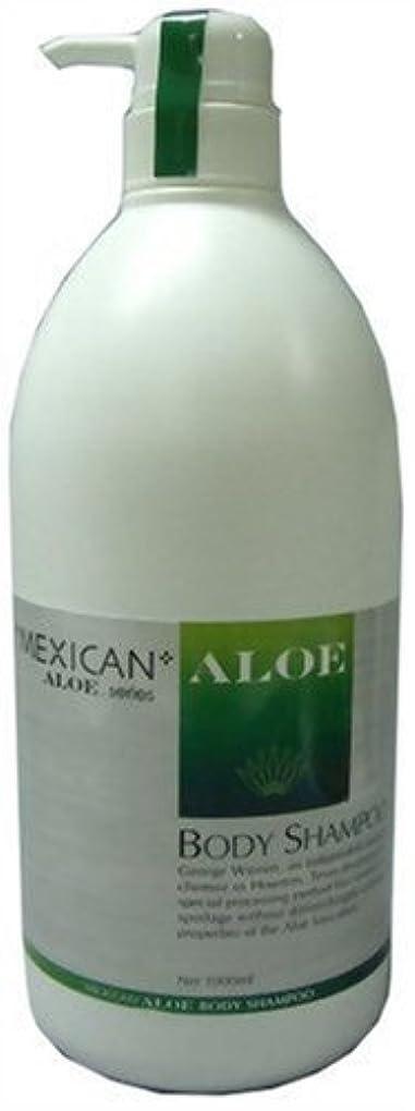 保持するコイン解き明かすメキシカンアロエボディーシャンプー 1L