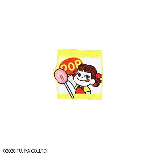 ペコちゃん 刺繍ステッカー ポップキャンディー・SS-PE-04