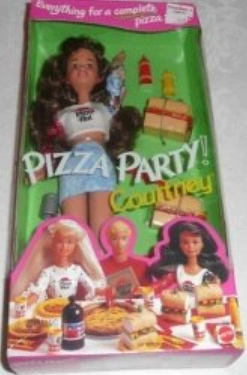 バービー - Pizza Party COURTNEY ドール - Pizza Hut 1994 マテル 131002fnp [並行輸入品]