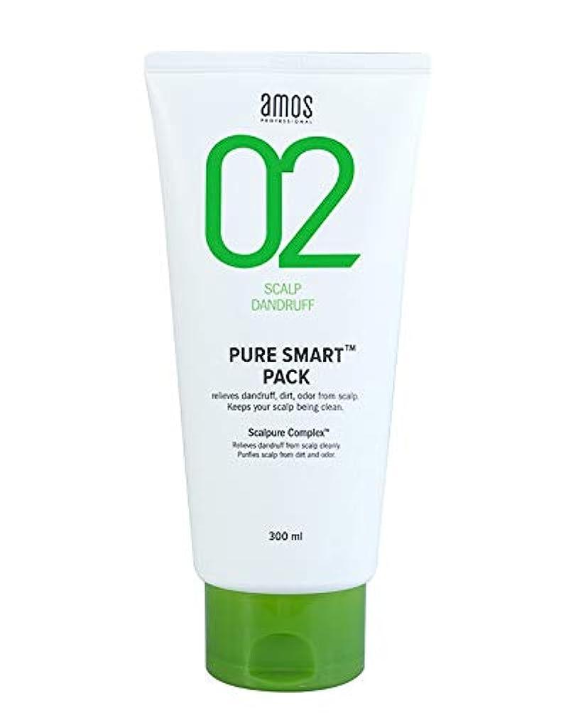 リーガン数値沈黙AMOS02ピュアスマートパック(頭皮フケ)300ml トリートメント 韓国の有名なヘアブランド人気トリートメント頭皮ケアヘアケア髪の栄養