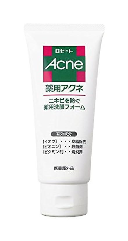 広大な真夜中多くの危険がある状況ロゼット 薬用アクネ 洗顔フォーム 130g (医薬部外品)
