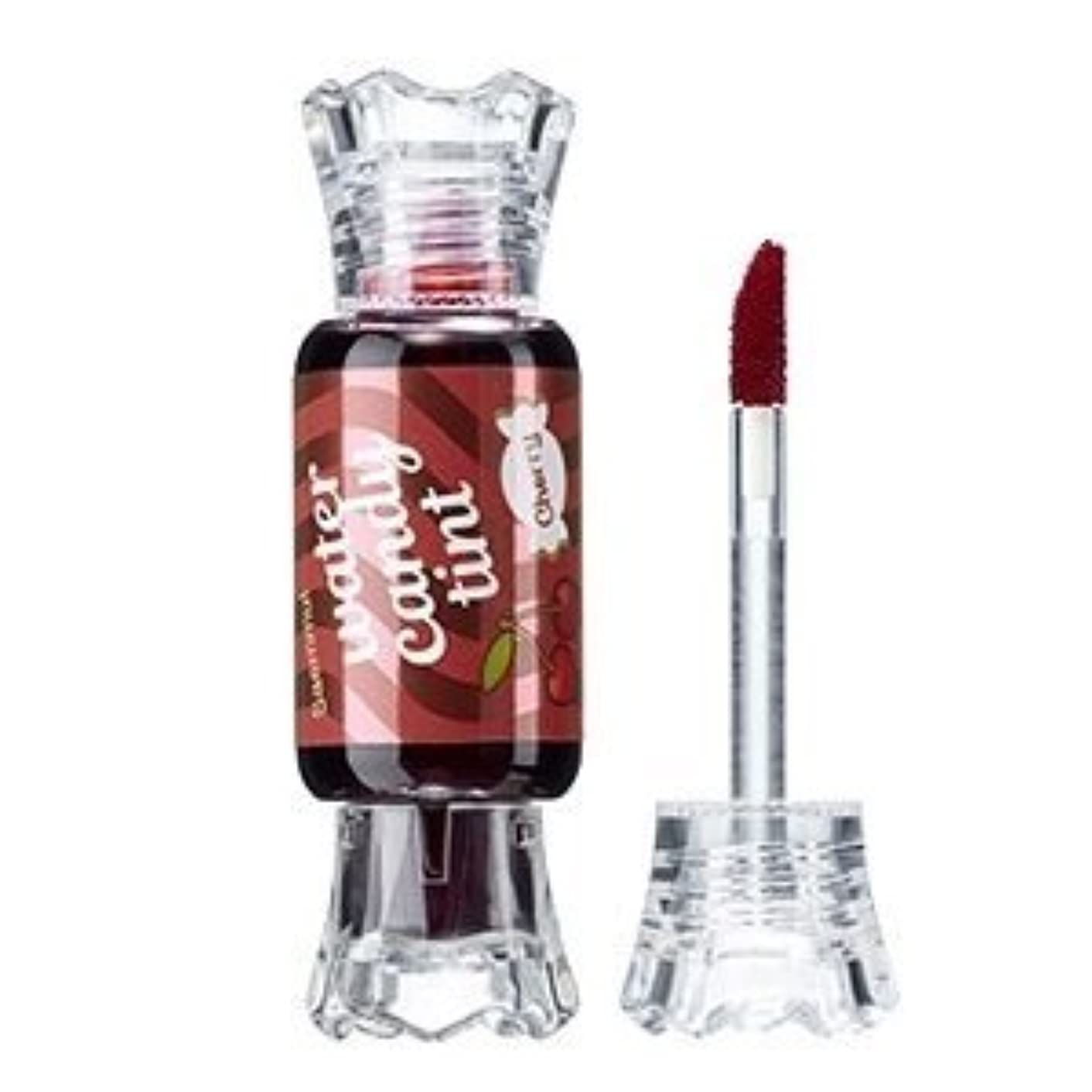 圧力州露骨なThe Saem Saemmul Water Candy Tint #01.Cherry ザセム セムムルウォーターキャンディティント# 01チェリー [並行輸入品]