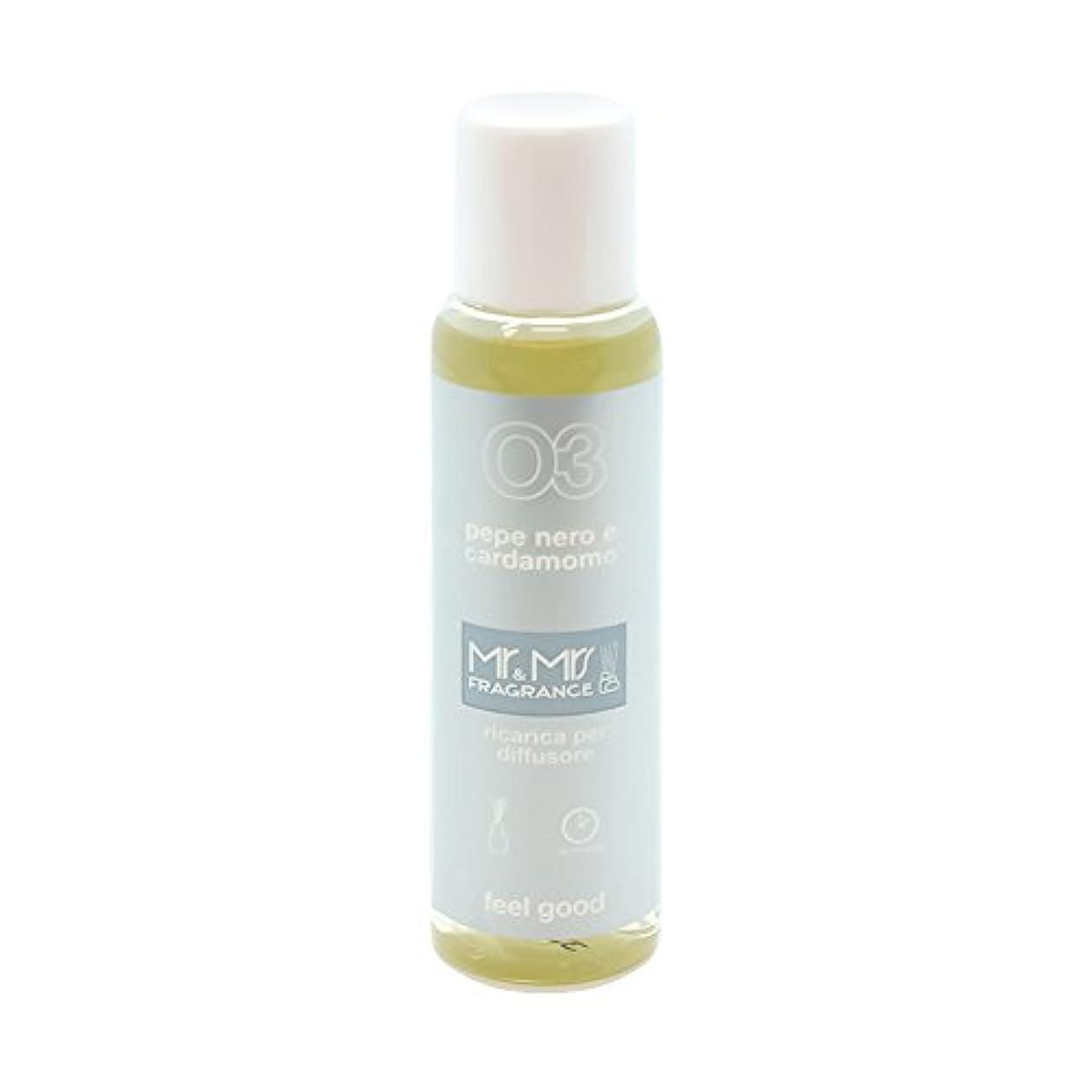熱狂的な証拠細いMr&Mrs(ミスターアンドミセス)easy fragrance 03 ブラックペッパー&カルダモン リフィル 100ml