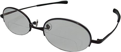 視楽楽(Shi-ra-ra) 日本製 上下遠近シニアグラス ブルーライトカットタイプ PC老眼鏡 +...