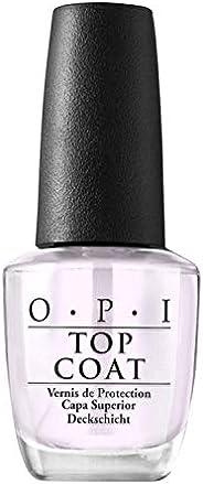 OPI Nail Lacquer Top Coat, Nail Polish Top Coat, Protective High-Gloss Shine