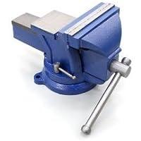 toolsisland(ツールズアイランド) バイス リードバイス 万力 回転式 125mm 3点固定 定盤付き 強力バ…