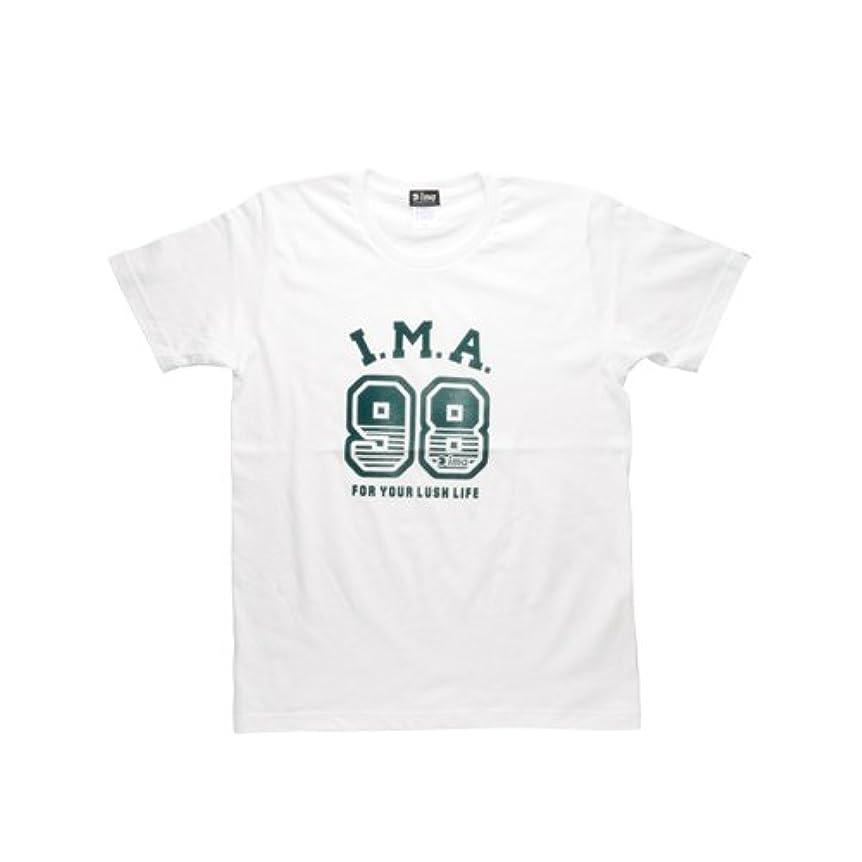 半球とらえどころのない無実アムズデザイン(ima) ima オリジナルTシャツ2014 ホワイト M 188658