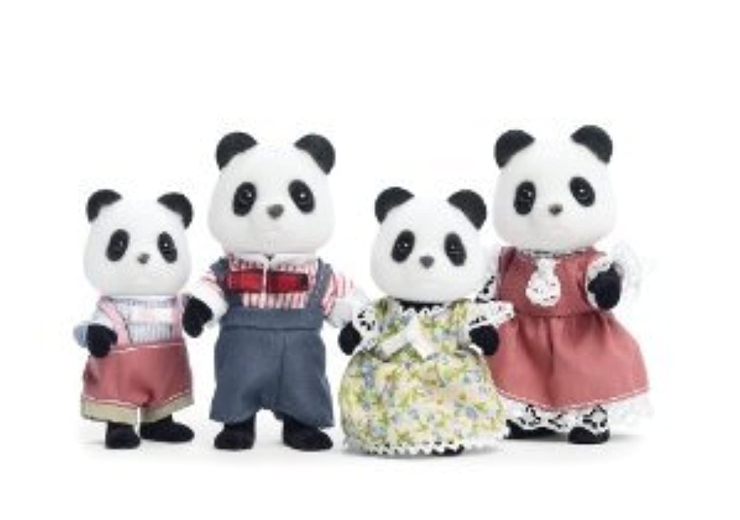 Calico Critters Wilder Panda Bear Family(並行輸入)