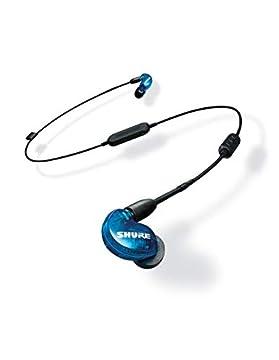 SHURE ワイヤレスイヤホン BT1シリーズ SE215 Special Edition Bluetooth カナル型 高遮音性 トランスルーセントブルー SE215SPE-B-BT1-A 【国内正規品/メーカー保証2年】