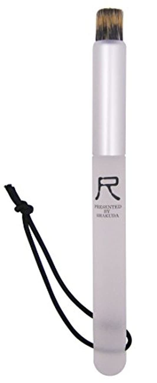 水っぽい直径相対サイズ熊野筆 尺 PRESENTED BY SHAKUDA 小鼻専用洗顔ブラシ
