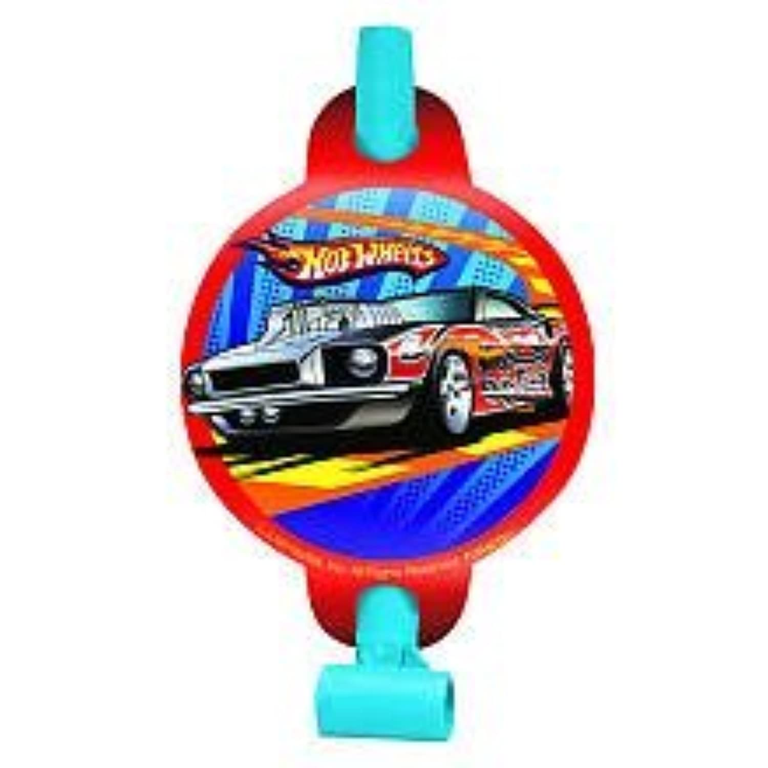Amscan Hot Wheels Speed City Party Blowouts 8-Count [並行輸入品]