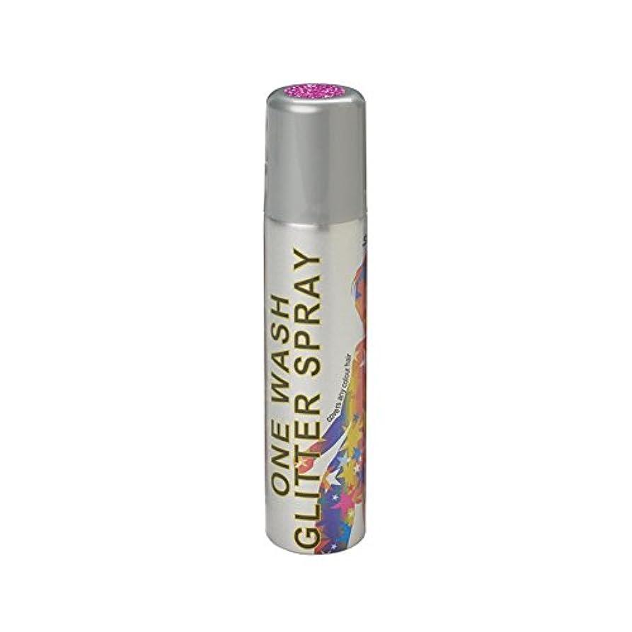 光電アルコールブリリアントスターゲイザー ワンウォッシュ グリッタースプレー 75ml グリッターピンク