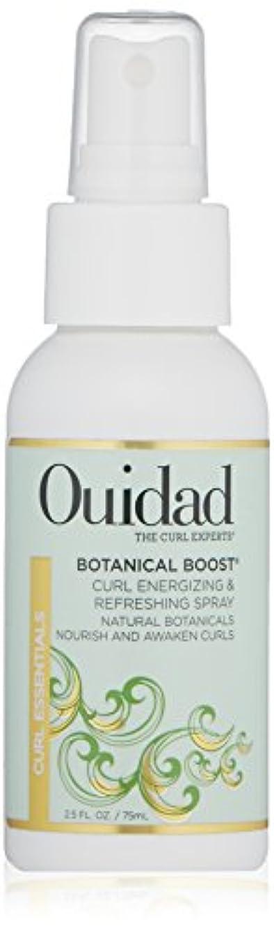 フロンティア乳剤の頭の上Ouidad OUIDAD植物はカールエナ&リフレッシュスプレー、2.5液量オンスを後押し 2.5オンス