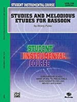 PAINE H. - Student Instrumental Course: Studies and Melodious Etudes for Bassoon Level 1 para Fagot