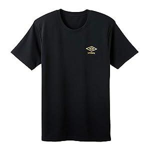 [アンブロ] Tシャツ Dry メッシュ クルーネック メンズ UBS713F ブラック 日本 LL (日本サイズ2L相当)