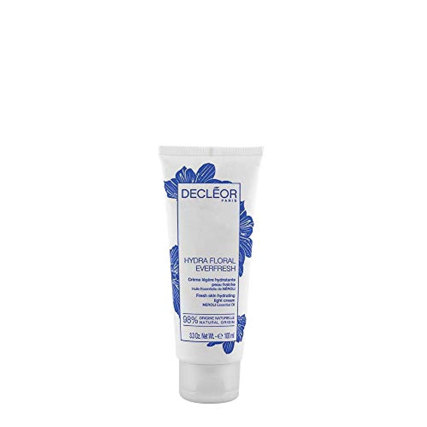 電気技師地上の配偶者デクレオール Hydra Floral Everfresh Fresh Skin Hydrating Light Cream - For Dehydrated Skin (Limited Edition) 100ml/3.3oz...
