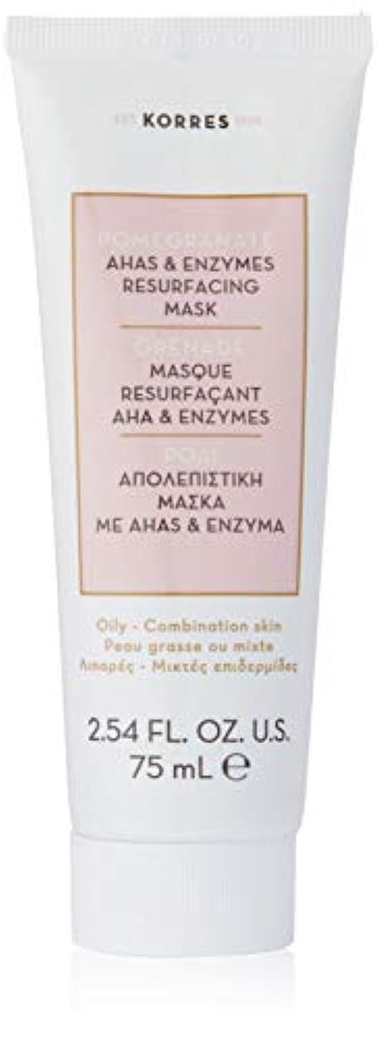 裕福な先見の明安定しましたPomegranate AHA and Enzymes Resurfacing Mask