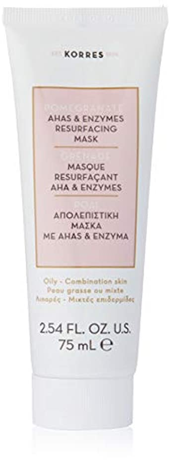 官僚興奮する証拠Pomegranate AHA and Enzymes Resurfacing Mask