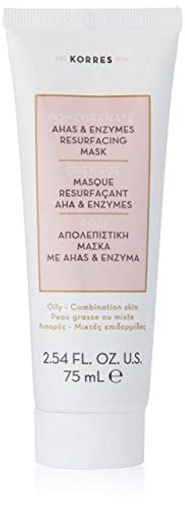 屋内で系譜表面的なPomegranate AHA and Enzymes Resurfacing Mask