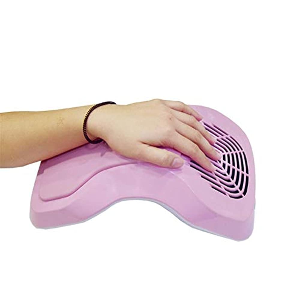 エレガントミルク発音するネイル掃除機吸引ダストコレクター機でダストバッグプロフェッショナルサロン爪ダストコレクションファンネイルアートToolspink