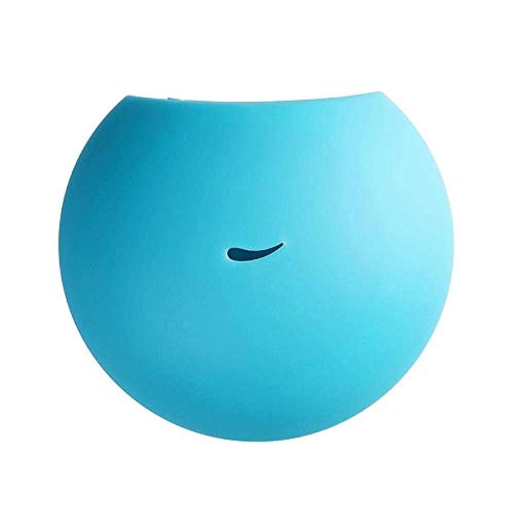 守銭奴知覚する主SOTCE アロマディフューザー加湿器エッセンシャルオイルディフューザーのUSBクールミストメーカー超音波霧化技術が内蔵水位センサー (Color : Sky Blue)