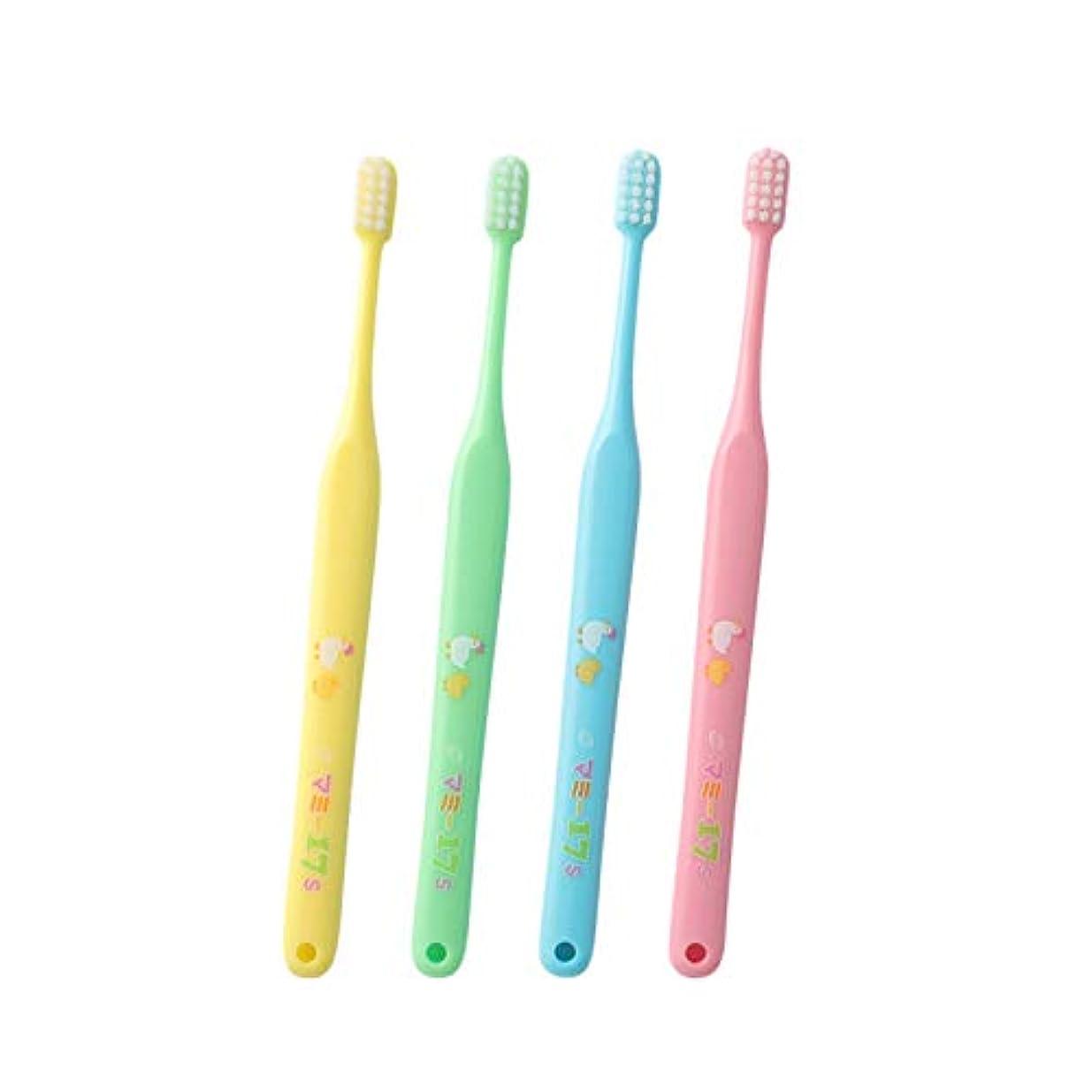 四回明快ドロップオーラルケア マミー17 歯ブラシ 25本入 アソート (S)