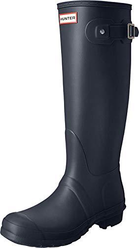 Hunter レディース 長靴 オリジナルトール 防水 冬用スノーブーツ レインブーツ