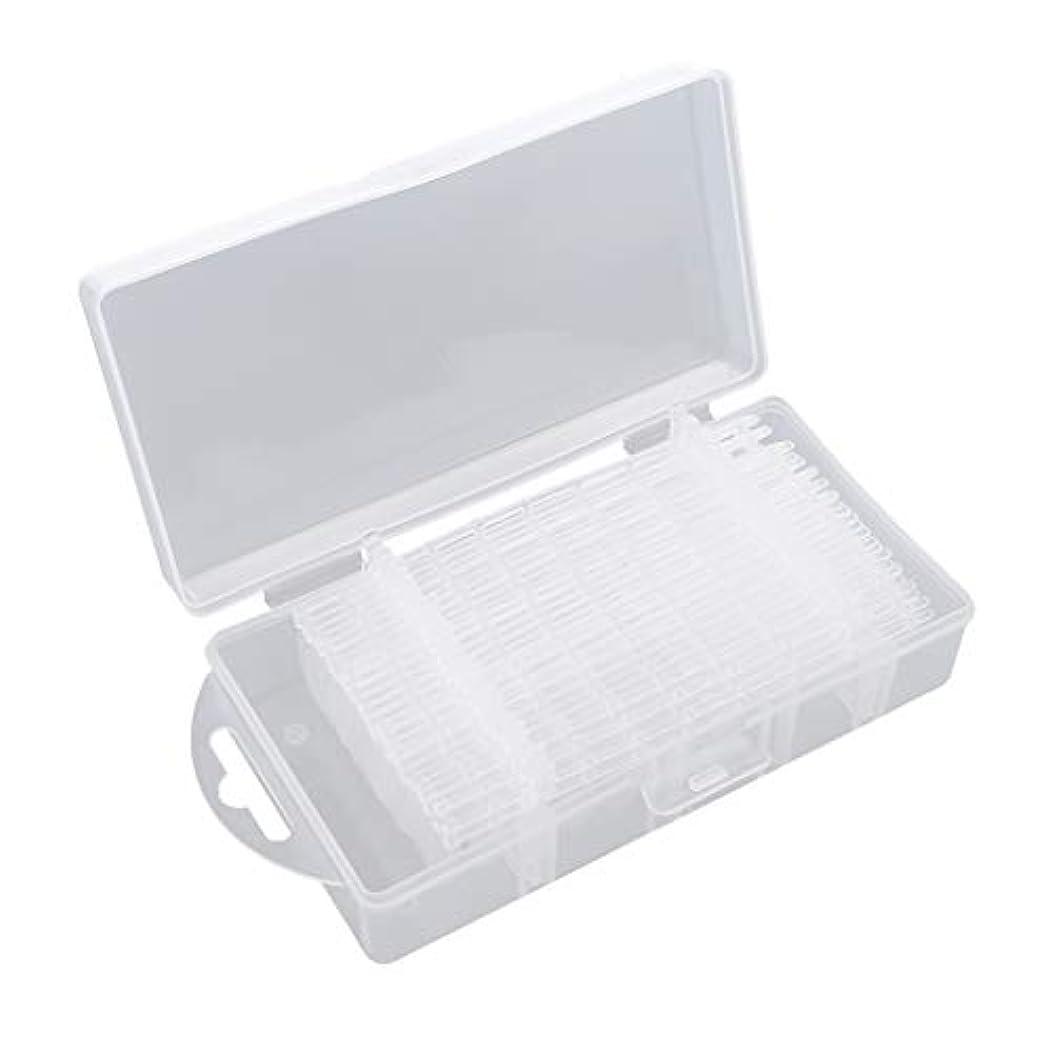 サイクロプス材料透明にDYNWAVE 300枚入り 全3種類 ネイルチップ クリア つけ爪 付け爪 ネイル練習 ハンド マニキュア - #1