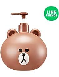 ミシャ[ラインフレンズ] ハンド&ボディローション/MISSHA [LINE FREND] Hand & Body Lotion - Brown 600ml [並行輸入品]