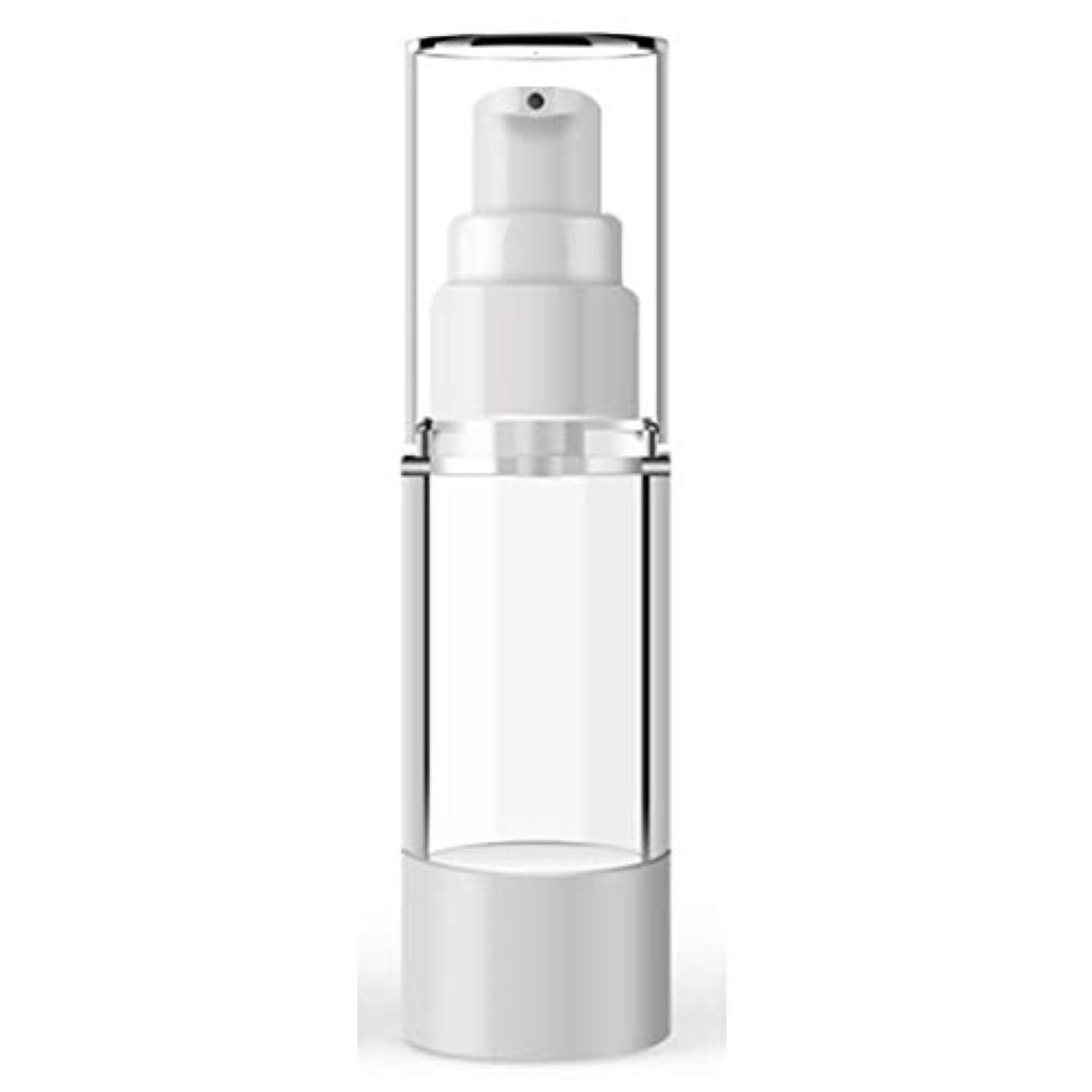 最適お酢謝罪するACHICOO 小分けボトル 15ミリリットル 100ミリリットル プラスチック 化粧品ボトル 詰め替えボトル エマルジョンスプレー 透明 真空容器 100ml flat mouth vacuum lotion bottle