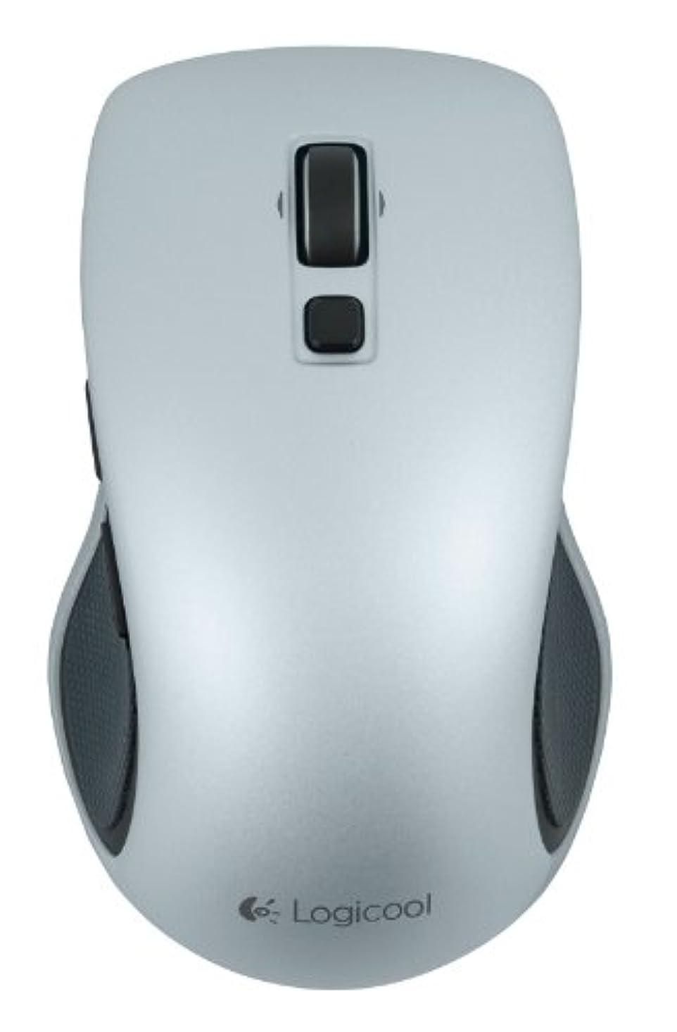 約酔っ払い薬剤師Logicool ロジクール ワイヤレスマウス M560 ライトシルバー